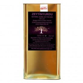 Zeytinyurdu Hafif Lezzet(yumuşak aromalı )Natürel Sızma Zeytinyağı 5 lt Bayındır